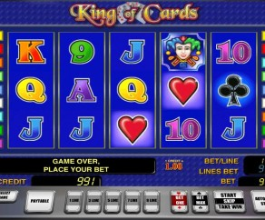 cleopatra online slot king of cards