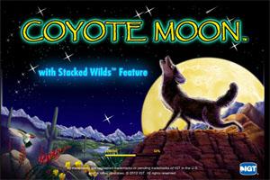 Coyote Moon slots - Spela Coyote Moon slot gratis online