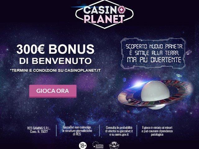 Planet Casino Bonus