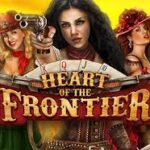 Heart of the Frontier slot logo