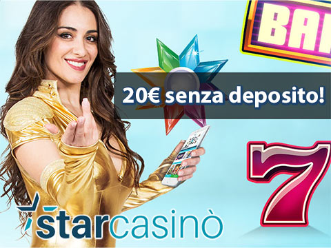starcasino landing page bonus
